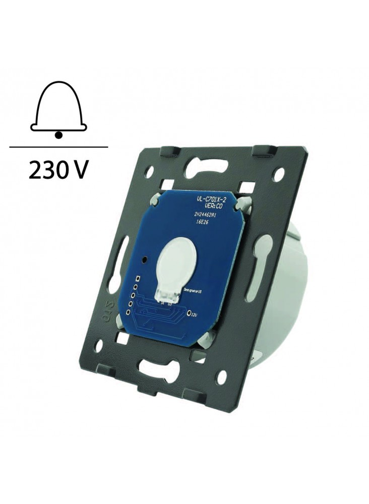 Wkład pojedynczego włącznika dotykowego impulsowego LIVOLO WW-C701IH