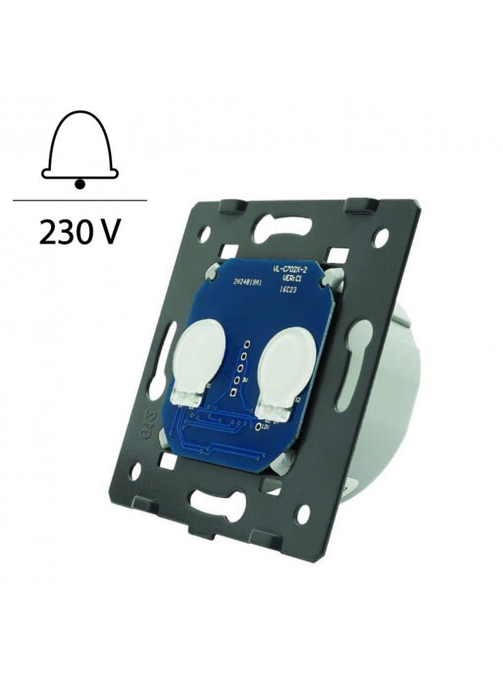 Wkład podwójnego włącznika dotykowego impulsowego LIVOLO WW-C702IH