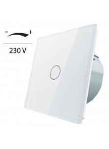 Ściemniacz dotykowy pojedynczy LIVOLO VL-C701D | Biały