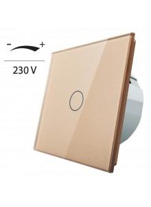 Ściemniacz dotykowy pojedynczy LIVOLO VL-C701D | Szampański