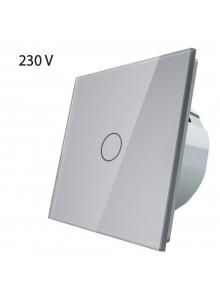 Włącznik dotykowy pojedynczy LIVOLO VL-C701 | Szary