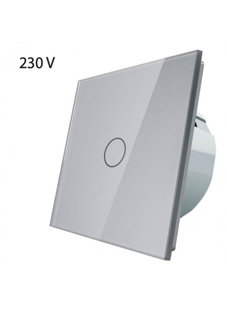 Włącznik dotykowy pojedynczy LIVOLO VL-C701   Szary
