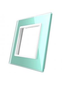 Pojedyncza szklana ramka LIVOLO GPF-1 Zielony