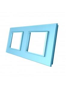 Podwójna ramka szklana GPF-2 Niebieski