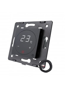 Moduł termostatu Livolo | Czarny