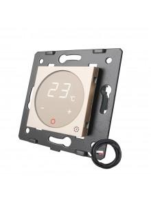 Moduł termostatu Livolo | Szampański